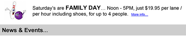Family Day Specials